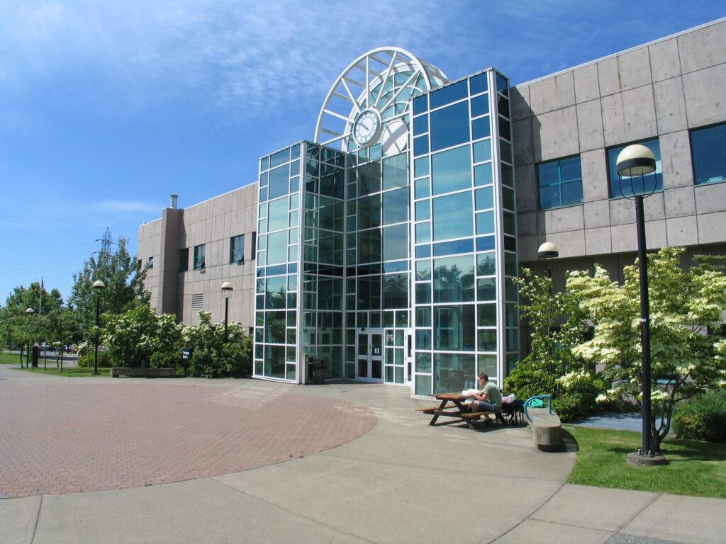 Liz Ashton Campus Centre exterior