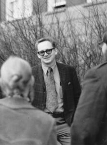 Dr. Grant Fisher, Camosun's first president