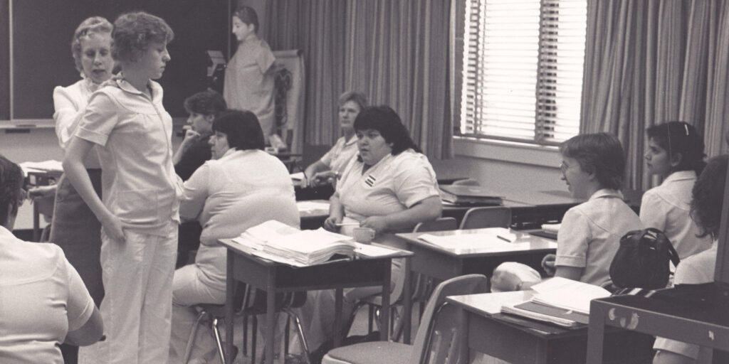 HUman and Health Services class in the 70s
