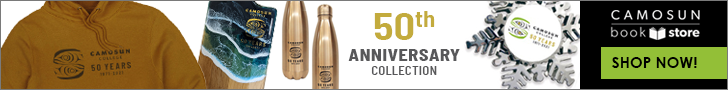 Shop for Camosun College 50th Anniversary gifts and clothing