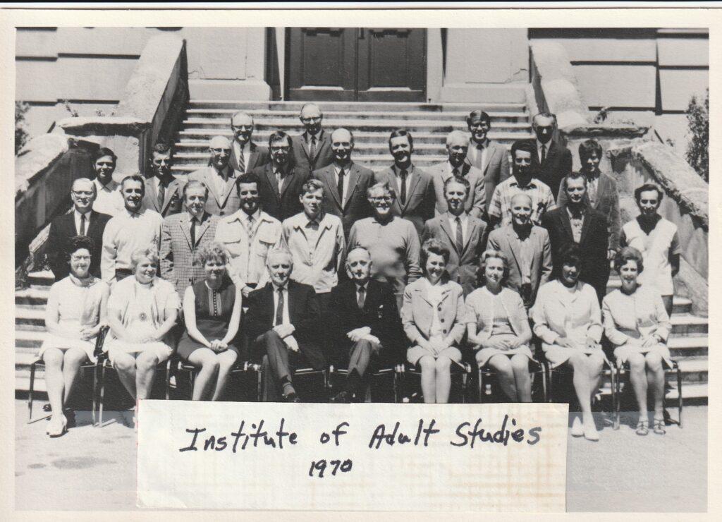 Institute of Adult Studies 1970