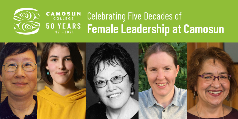 Celebrating 50 years of femaleleadership at Camosun