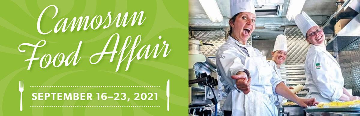 Camosun Food Affair September 16 to 23